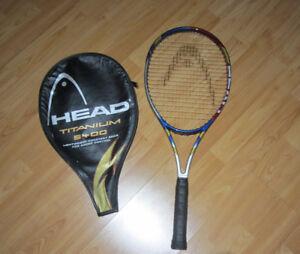 Head Titanium 5400 Tennis racquet looks new paid 175+tx