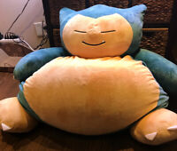 Swell Selling Thinkgeek Pokemon Snorlax Beanbag Chair 100 Firm Andrewgaddart Wooden Chair Designs For Living Room Andrewgaddartcom