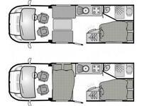 Bessacarr E450 FIAT DUCATO LEZ COMPLIANT 4 BERTH 2 TRAVELLING SEATS MOTORHOME