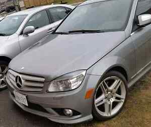 2008 Mercedes Benz C300 4matic with 3 sets of rims