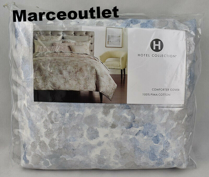 Hotel Collection Speckle Blue Printed KING Duvet Cover - $66.00