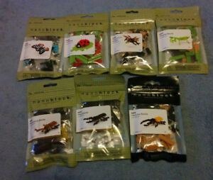 Nanoblock Insect Sets