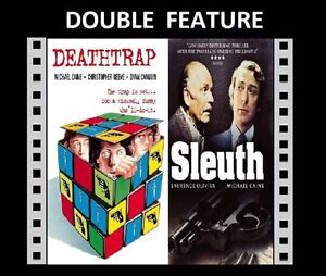 DEATHTRAP / SLEUTH ( Michael Caine Laurence Olivier ) for Region 2 SEALED DVD