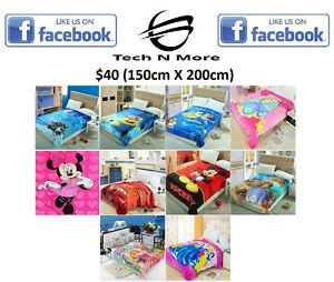 Kids Blankets (10 Different To Choose)
