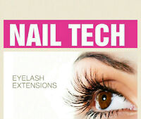 Nail tech or eye lash girl