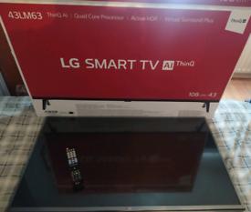 "43"" LG HD Ready Smart TV"