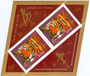 Timbres Année du Tigre (1998)