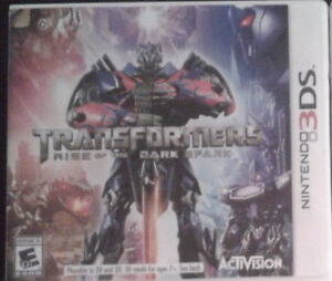Transformers: Rise of the Dark Spark 3DS