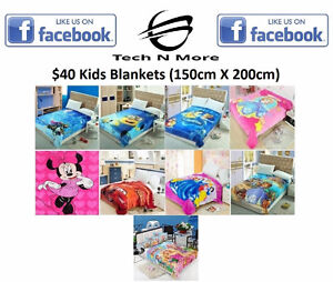 Kids Blankets (9 Different To Choose)