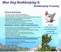 BLUEDOG BOOKKEEPING & TRAINING QuickBoook Simply Accounting