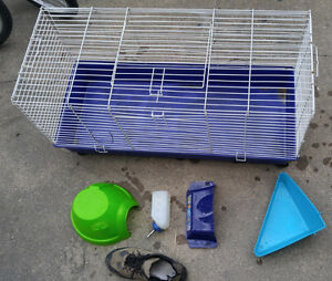 Cage, guinea pig or rabbit