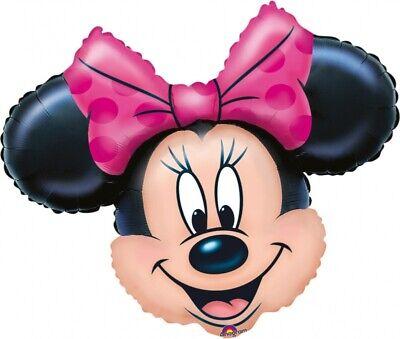 Folienballon Ballon Minnie Maus Kopf ungefüllt (Minnie Maus Kopf)
