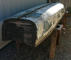 16' Peterborough Canoe with Transom Materials for Restoration