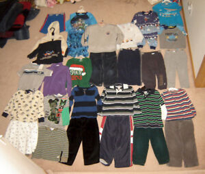 Boys Clothes, Snow Pants, Winter Hat - sz 3, 3T, 3X, Boots 10