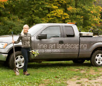 High Quality Landscaping  competitive rates, free estimates