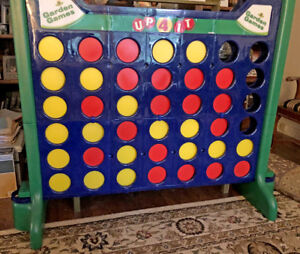 Giant Backyard Connect 4 Game