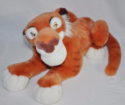 "Disney Store Jungle Book Plush 18"" Shere Khan Large Plush Big Stuffed animal"