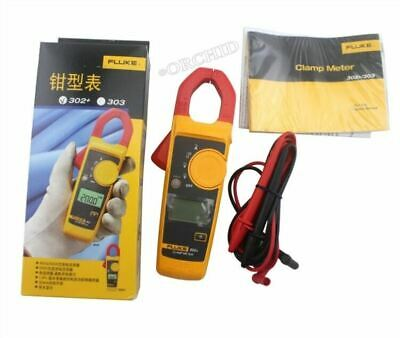 Fluke 302 With Coft Case Kch17 Handheld Digital Clamp Meter Multimeter Teste As