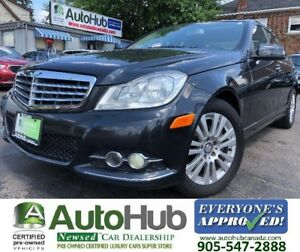 2012 Mercedes-Benz C-Class NAVIGATION-4MATIC-LEATHER-SUNROOF