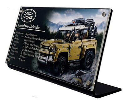 LEGO For 42110 Land Rover Defender - CUSTOM ACRYLIC DISPLAY STAND