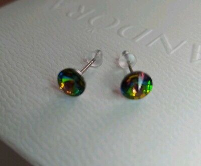 Unwanted gift sparkly Swarovski Crystal Elements Stud Earrings New