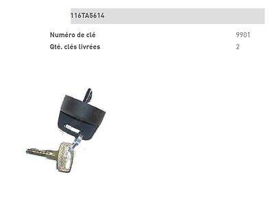 Llave De Contacto Jlg N° 9901 Interruptor Encendido Pieza Capazo Ascensor