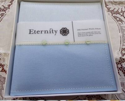 New Photo Album - Baby Boy Blue Eternity 200 Pocket in box