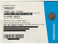4 x TRNSMT - 3 Day Ticket 29th June, 30th June & 1st July