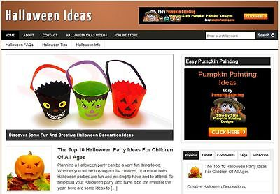 key Affiliate Website Boost Holiday Season Profits WP Blog (Website Halloween)