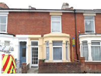 4 double bedroom fully furnished house located on Wheatstone Road, Southsea, PO4 available 1st July