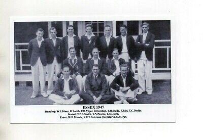 Postcard J F Sporting Collectibles - Cricket Teams  Essex 1947