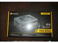Corsair HX850 Platinum Power Supply Brand New