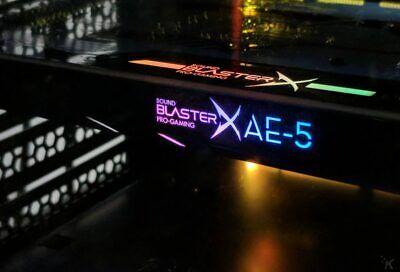 Creative Sound BlasterX AE-5 Pro Gaming RGB Sound Card PCIe - MINT with BOX