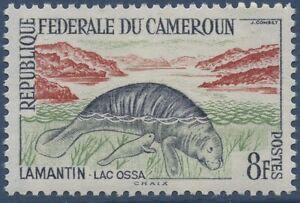 CAMEROUN-1962-N-347-Animaux-Lamantin-manatee-CAMEROON-MNH