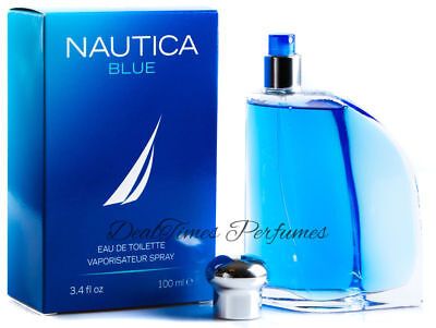 Nautica Blue Cologne for Men 3.4 oz EDT Spray New in Box Sealed