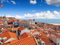 2 Return Flight Tickets, London Luton - Lisbon, 9 Aug - 15 Aug, currently selling at £370 online