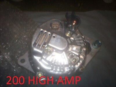 NEW DODGE RAM VAN ALTERNATOR 1999 Pickup Diesel 99-2002 5.9L 200 HIGH Amp