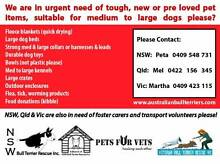 Medium to large dog items wanted for dog rescues please. Jesmond Newcastle Area Preview