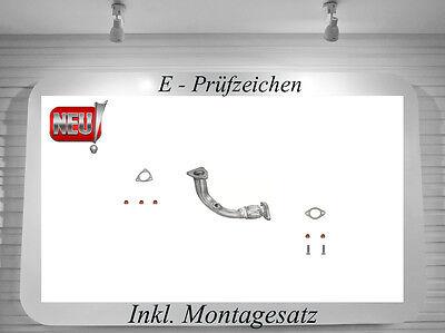 Auspuff ab Katalysator FIAT SEICENTO 187 1.1 Schrägheck 1998-2010 Auspuffanlage