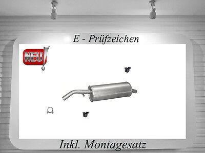Citroen C2 1.4i /& 16V  ENDSCHALLDÄMPFER AUSPUFF ENDTOPF