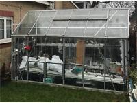 Aluminium Premium Rhino Greenhouse 12x8