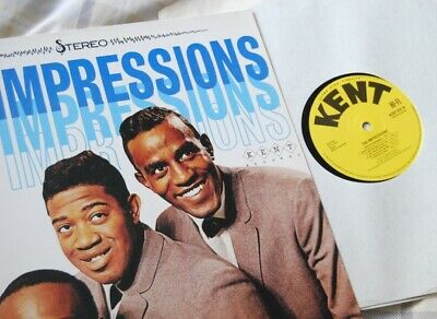 The Impressions – The Impressions Debut vinyl Kent 80's reissue Curtis Mayfield