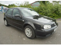 VW Golf 1.6 SE Low Mileage + Full Leather + 12 Months MOT + Full Service History