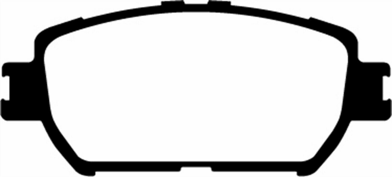 EBC DP41642R Yellowstuff Front Brake Pads