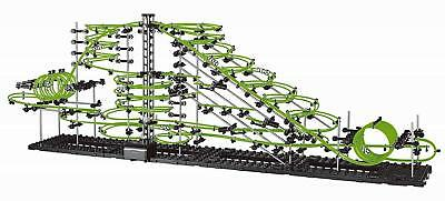 SpaceRail Level 6 31000mm Glow in The Dark Marble Run Fun DIY Building Set ](Marble Building Set)