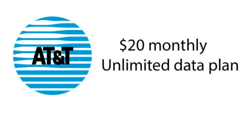 AT&T Unlimited Data Plan $20 Monthly