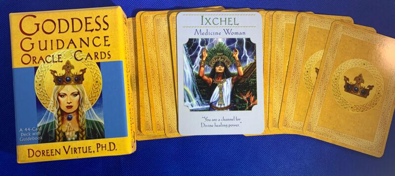 Ixchel - Single Card Replacement - Authentic Goddess Guidance Doreen Virtue