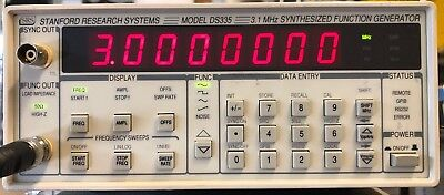 Stanford Research Systems Ds335 3.1mhz Synthesized Function Generator