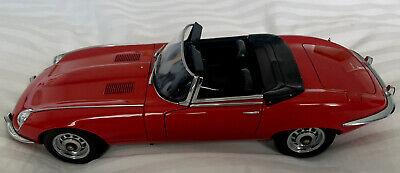 Rare Autoart 1:18 Diecast Series III Jaguar V-12 Red With Original Factory Box