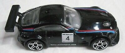 2011 Mattel Hot Wheels BMW Z4 M Motorsport Black 1:64